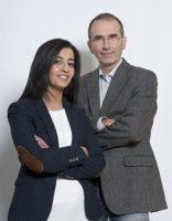 Portrait de Karima DELLI et François VEILLERETTE – Campagne des élections Européennes 2014 Nord Ouest