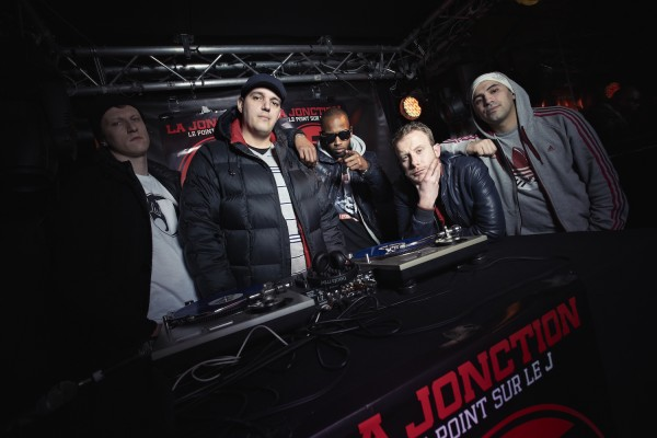 La Jonction Photo presse pour la sortie de l'album «Le point sur le J»