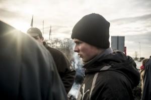 Manifestation des Agriculteurs. Neuville-En-Ferrain / Nord