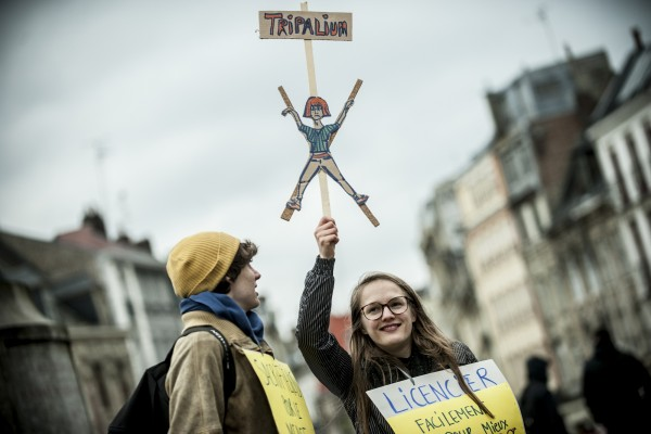 Tripalium – Manifestation contre la loi travail El Khomri