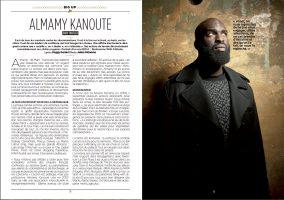 FUMIGENE #1  Portrait Almamy KANOUTE