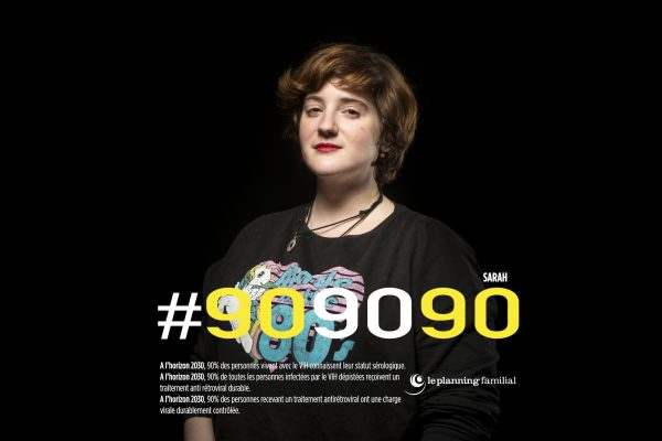 SARAH – Héritière, fille d'infirmière qui dans les années 80 faisait des dépistages « Il y a 2 choses importantes dans cette campagne de prévention. Il faut les mêmes droits pour toutes et tous et lutter contre toutes les discriminations. »