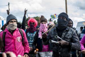 Manifestation en faveur des réfugiés. 1er octobre 2016 – Calais. Une batucada animera le rassemblement.